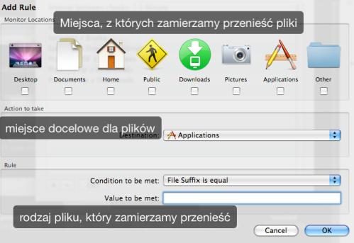 Menu File Actions