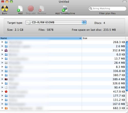 ArchiveMac - przygotowanie katalogów do wypalenia