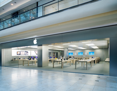 Apple Store w Hamburgu